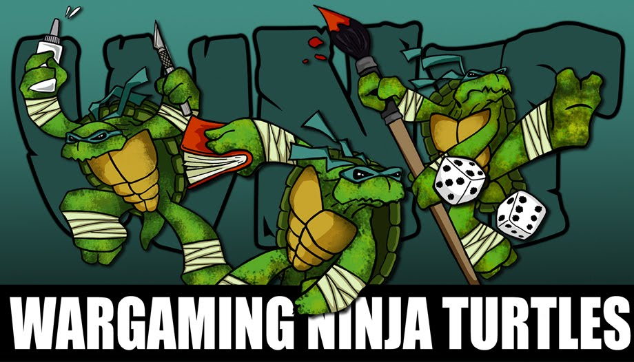 Wargaming Ninja Turtles