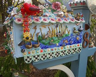 Bird Mailbox