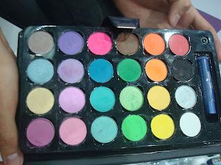 maquiagem paleta sombra Felicitta looks