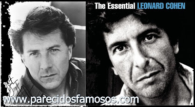 Dustin Hoffman y Leonard Cohen