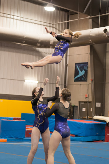 Oakville Gymnastics Club Acrobatic Gymnastics Team Pics