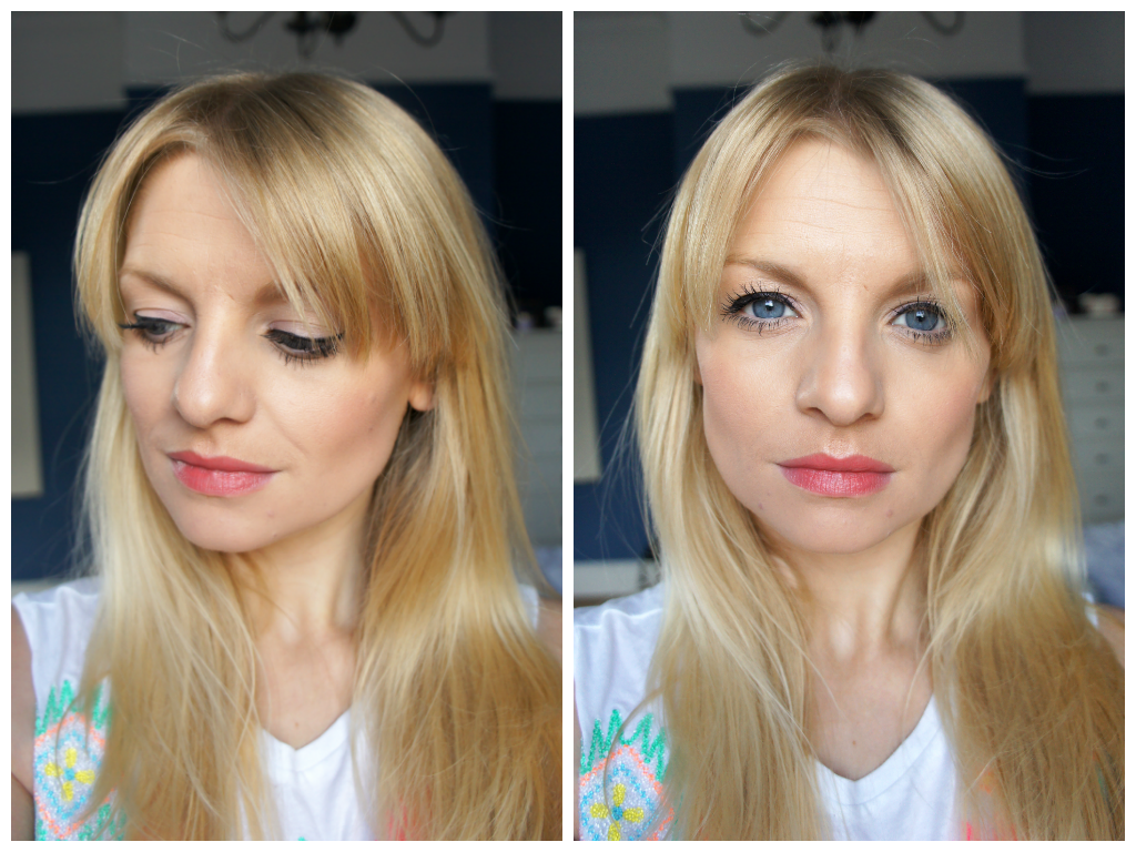 beauty blogger uk blonde make up contouring
