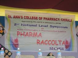 PHARMA RACCOLTA - 2012
