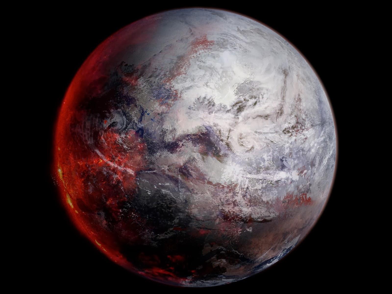 планета вулкан