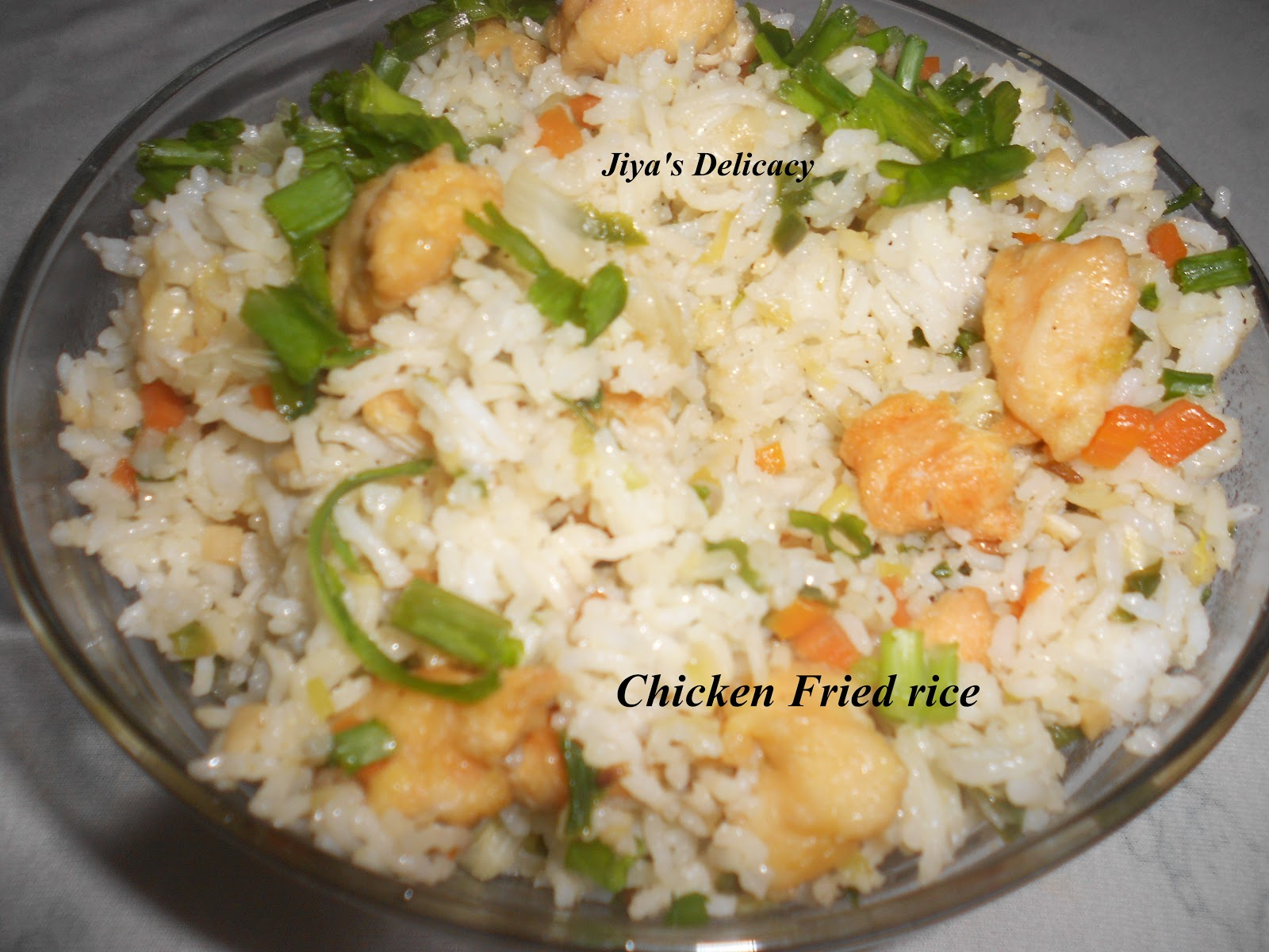 Chinese Chicken Fried Rice II Recipe — Dishmaps