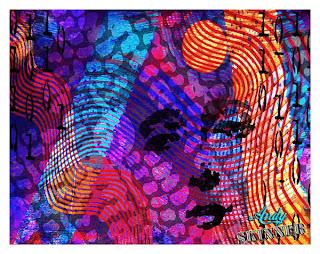 Gelli Printing Plate Andy Skinner Stencil