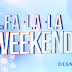 Fa-La-La Weekend | Próxima semana no Disney News