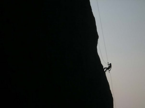 Trek Mates India 300 ft Rappelling at Duke's Nose on 5th ...