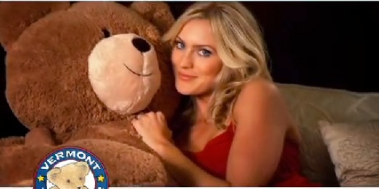Just Women having sex with a teddy bear