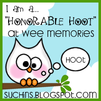 Thanx Jenny for the Honorary hoot...