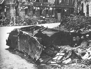 BIV Borgward, Powstanie Warszawskie