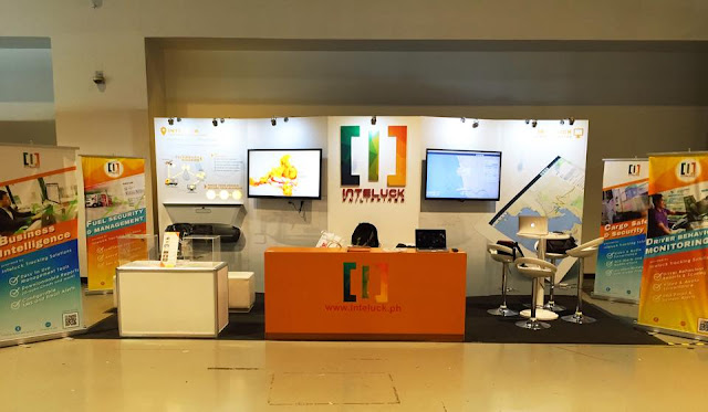 Inteluck Philippines Exhibit Booth Front View