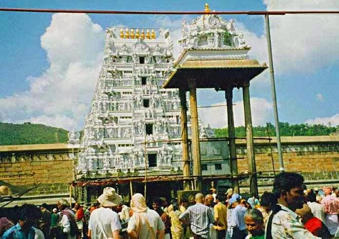 Tirupati balaji temples