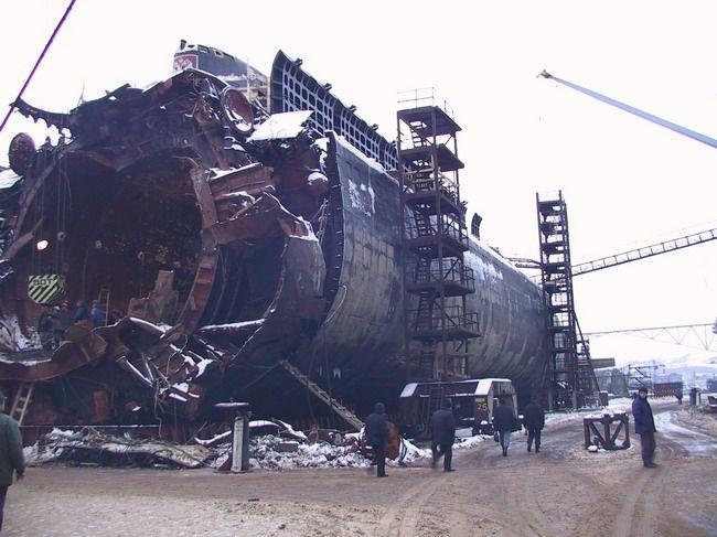 катастрофы и аварии атомных подводных лодок