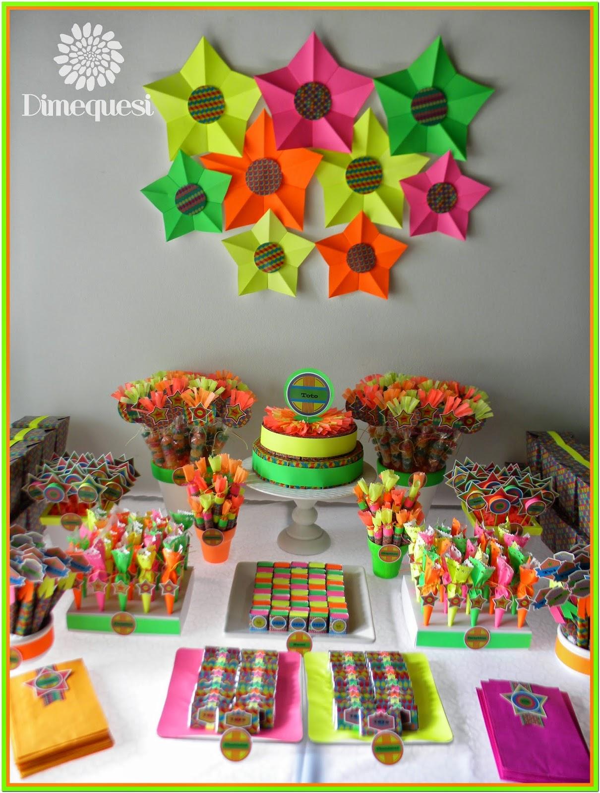 Dimequesi glow for Mesa de cumpleanos para adultos
