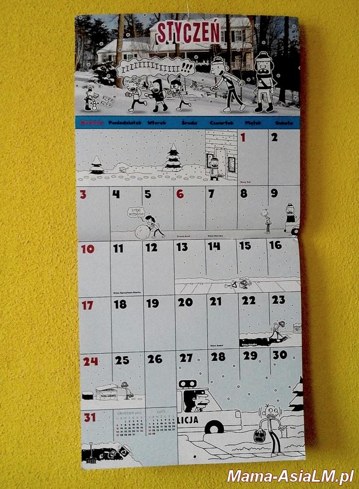 Nieziemski Kalendarz Cwaniaczka styczeń