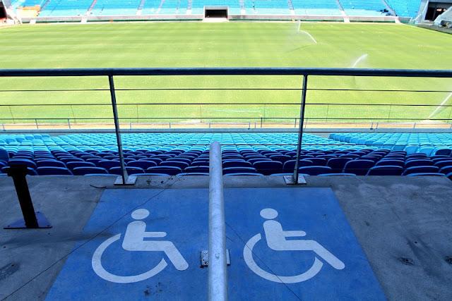 Acessibilidade na Arena Grêmio