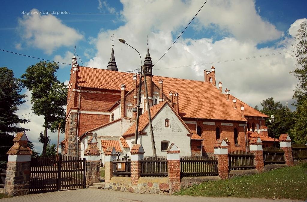 Jonkowo - kościół pw. św. Jana Chrzciciela | Olsztyn - kościół pw. NSPJ