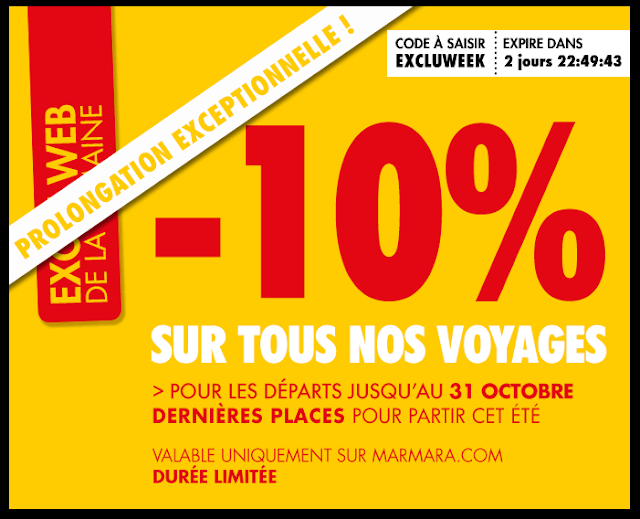 10 coupons voyages tub