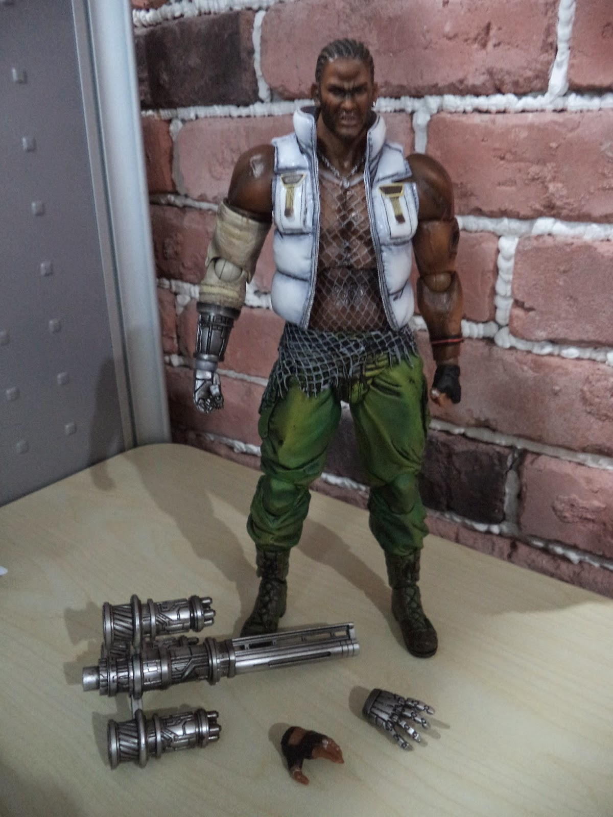 Angels And Summer Play Arts Kai Barret Wallace Review