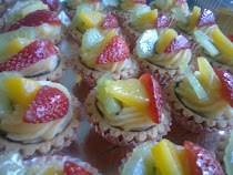 Baby fresh fruit tarts..min ode 50