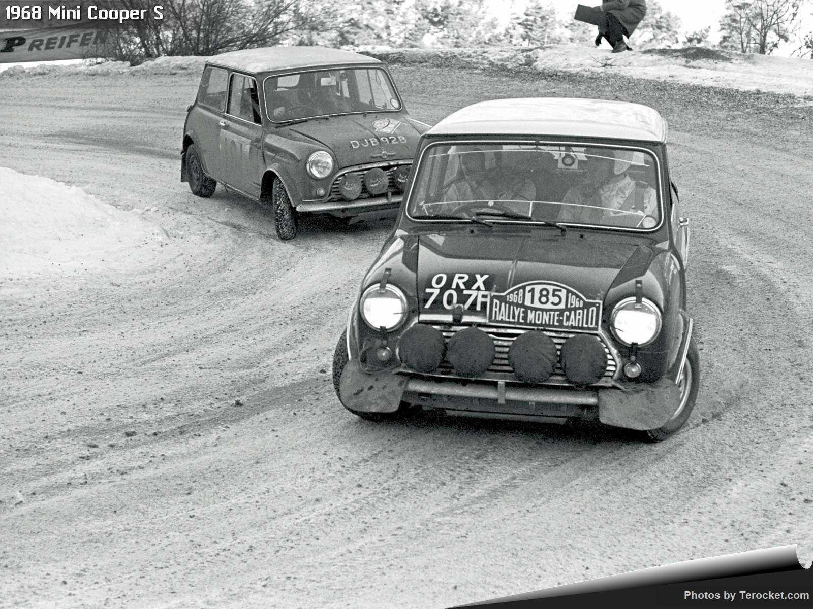 Hình ảnh xe ô tô Mini Cooper S 1968 & nội ngoại thất