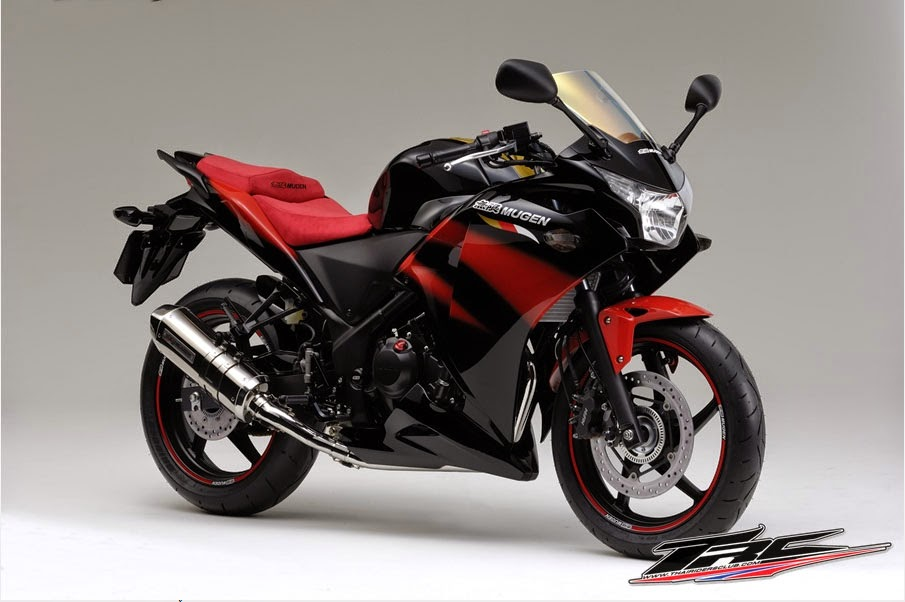 Honda CBR 250 hitam Merah