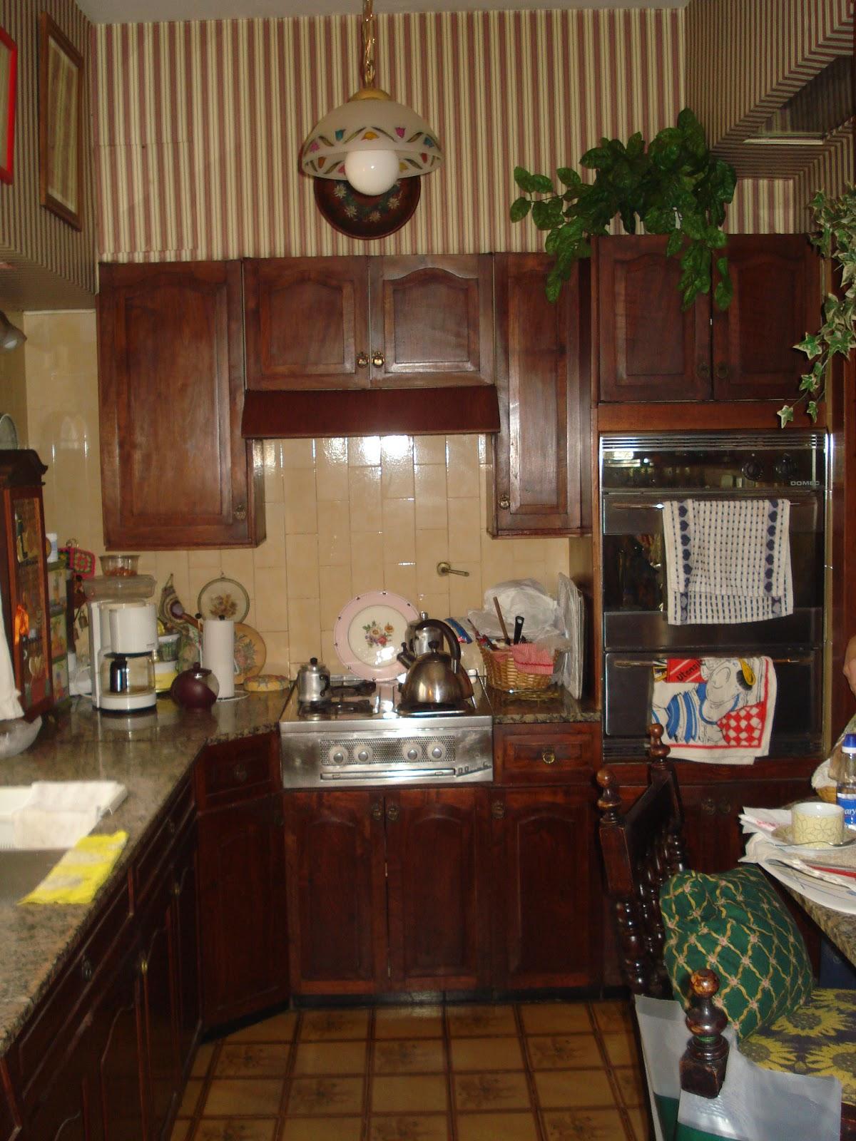 Antes y despu s de pintar el mueble for Muebles de cocina zarate