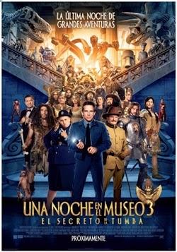 Una Noche en el Museo 3 (2014) Pelicula Online HD 720p 1080p [MEGA] [LATINO]