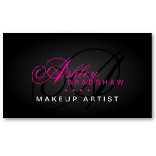 Business card showcase by socialite designs modern and for Hair and makeup business cards