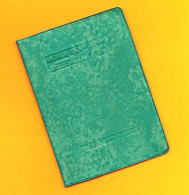 Libretto di deposito MPS