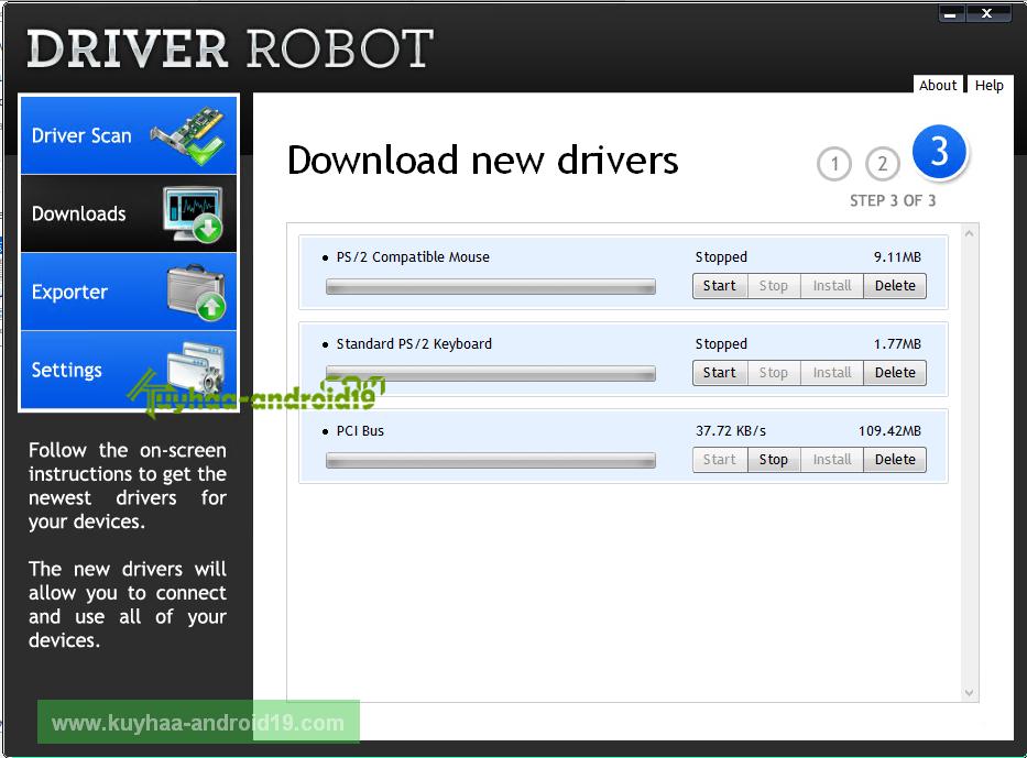 Driver Robot kuyhaa