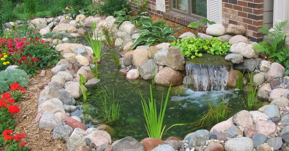 Small pond and waterfall backyard ideas | Backyard Design ...