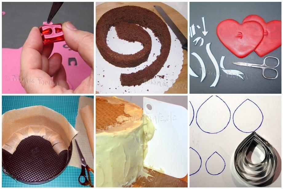 Torten dekorieren anleitung