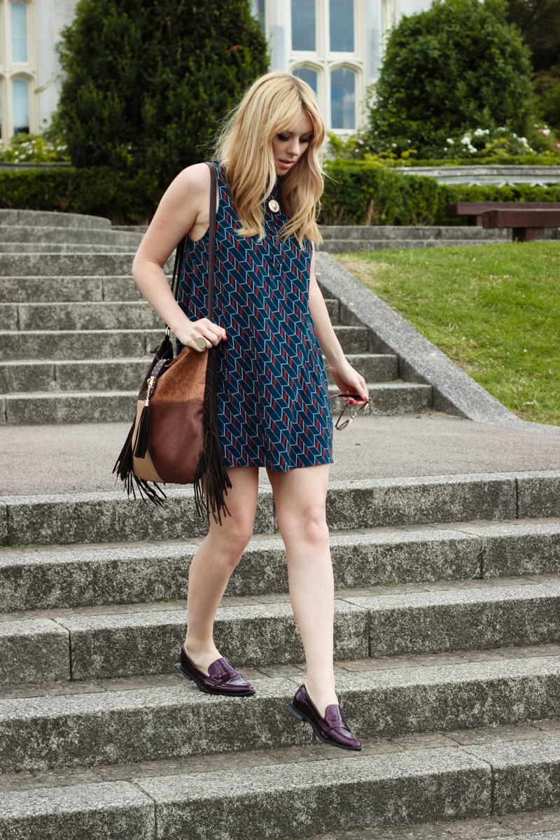 Urban Outfitters 70s Shirt Dress - The Goodowl