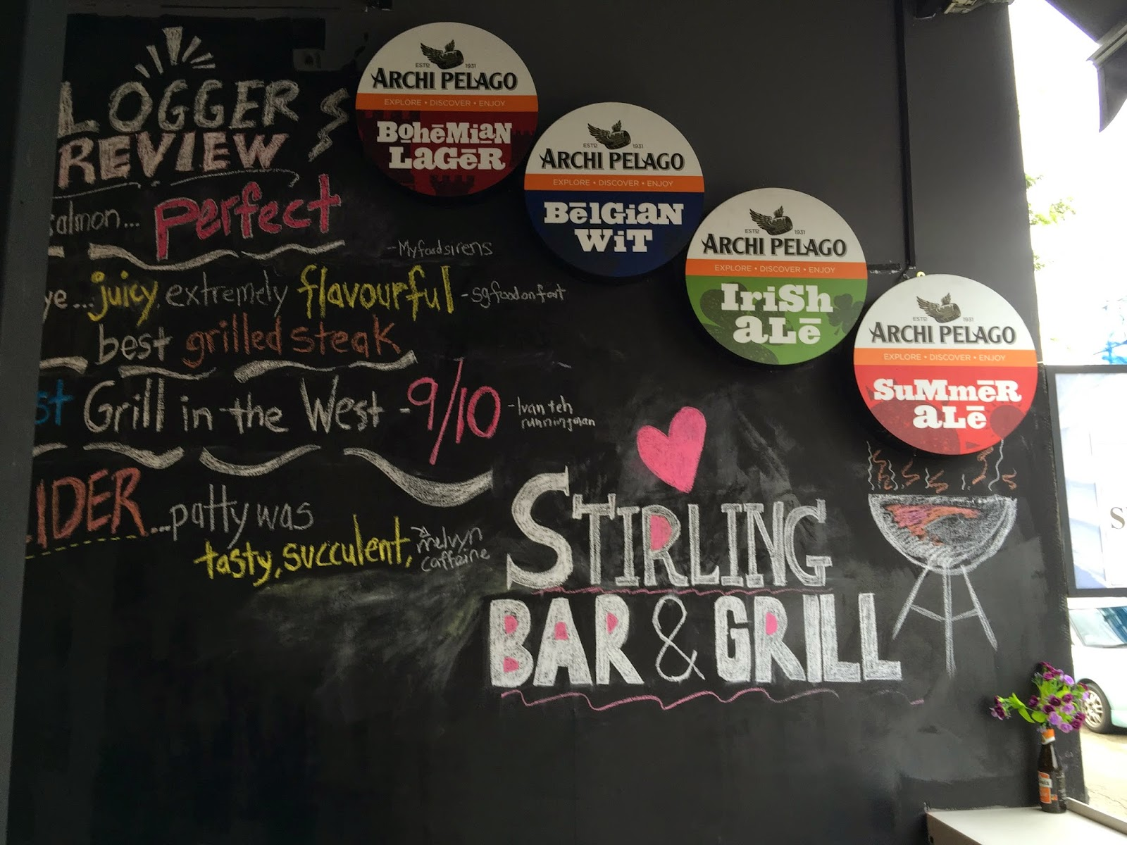 stirling bar & grill