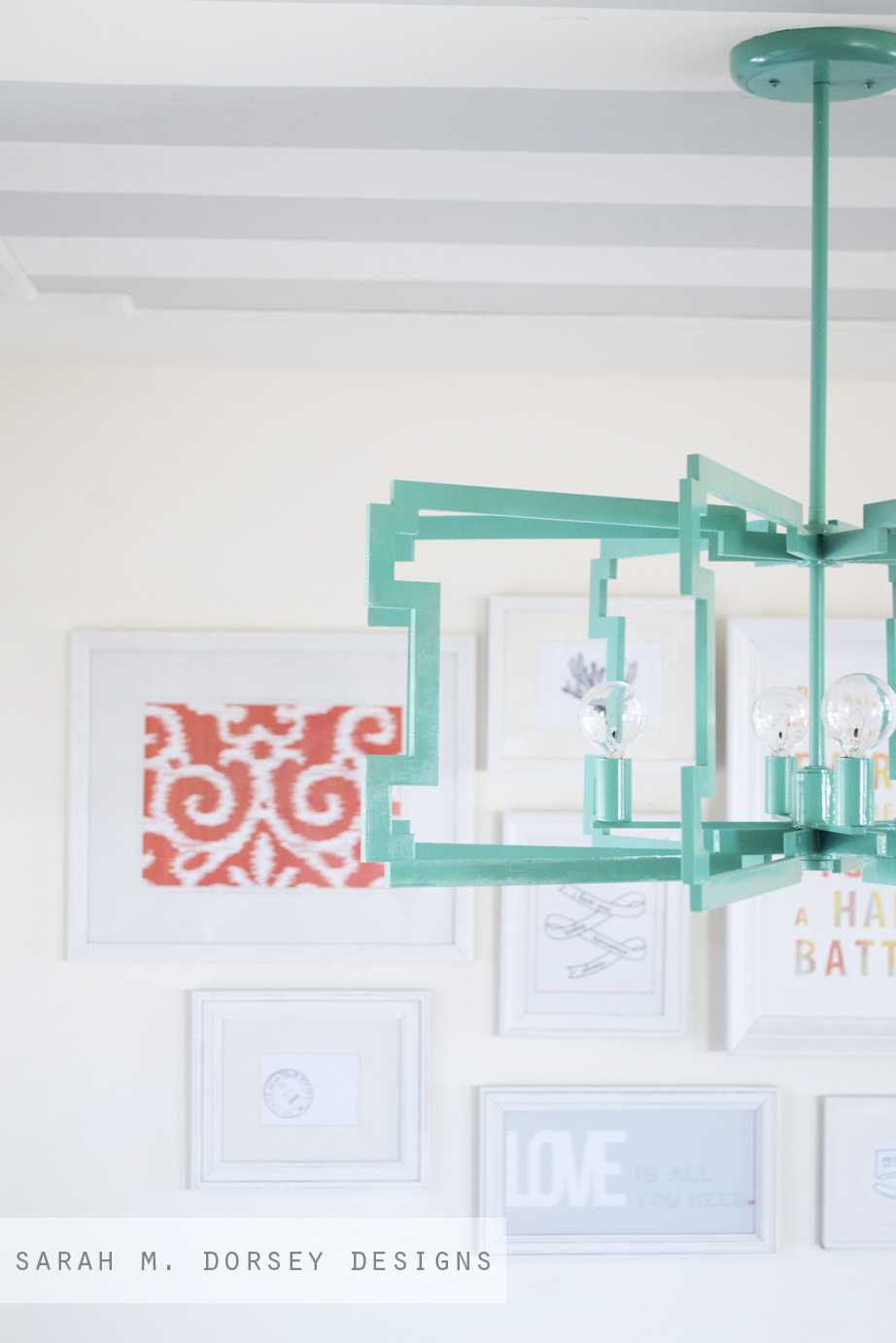 From Fluorescent Diffuser To Statement Pendant Dorsey Designs Light Diagram Doing It Yourself
