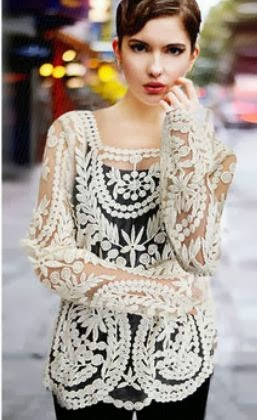 Embroidered Long-Sleeve Shirt