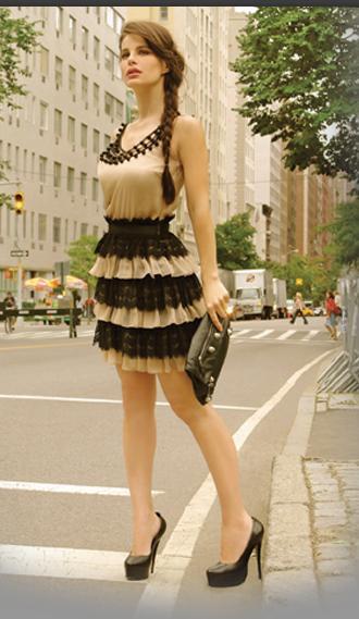 Bellos vestidos de fiesta cortos