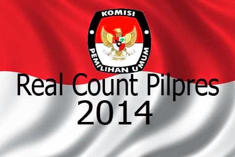 Rekapitulasi Real Count KPU Pilpres 2014