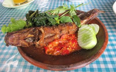 resep masakan khas Yogyakarta pecak lele