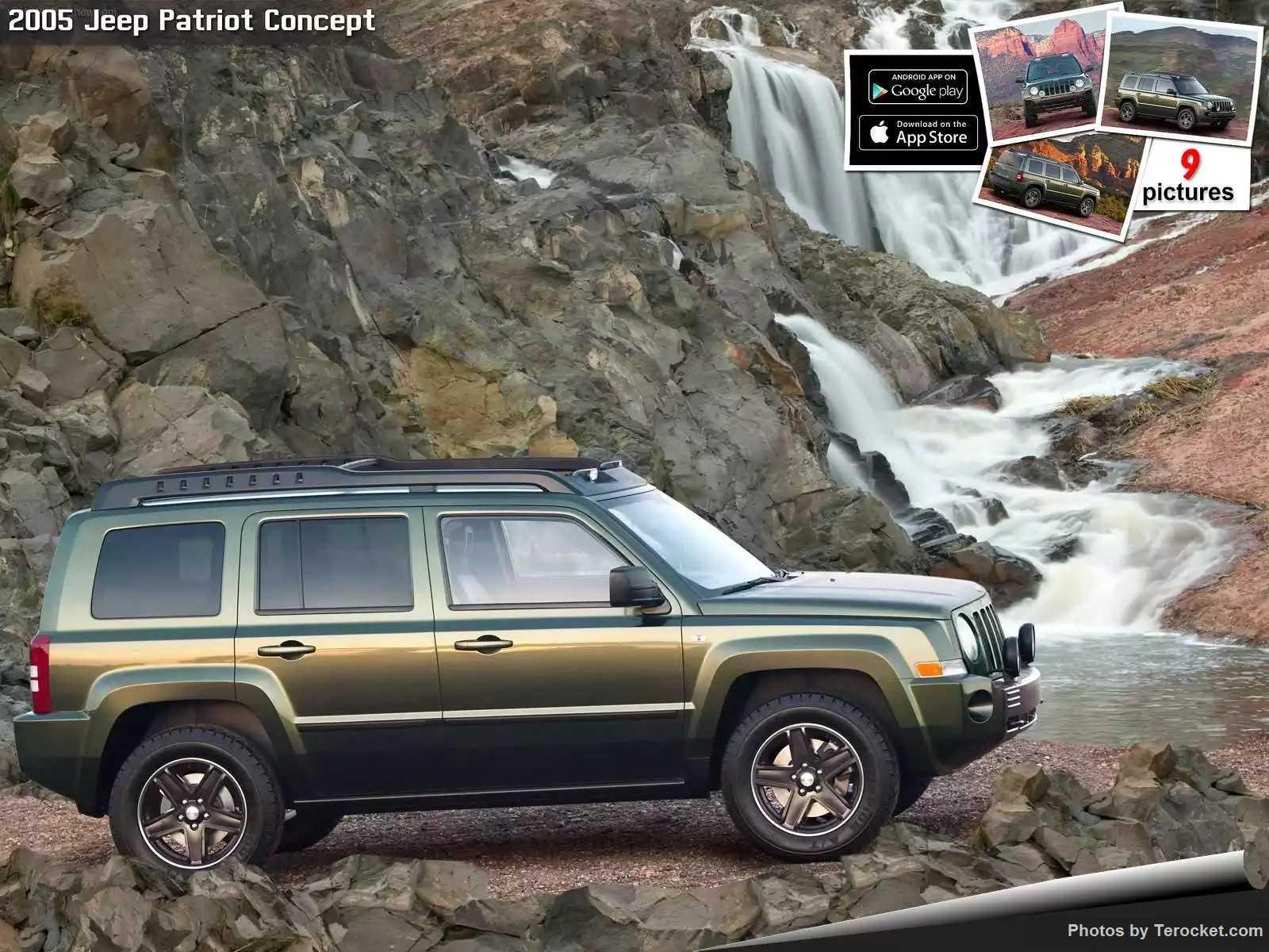 Hình ảnh xe ô tô Jeep Patriot Concept 2005 & nội ngoại thất