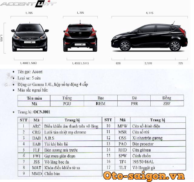 Xe Hyundai Accent Hatchback 5 cua 2014 23 Xe Hyundai Accent Hatchback 5 cửa 2014