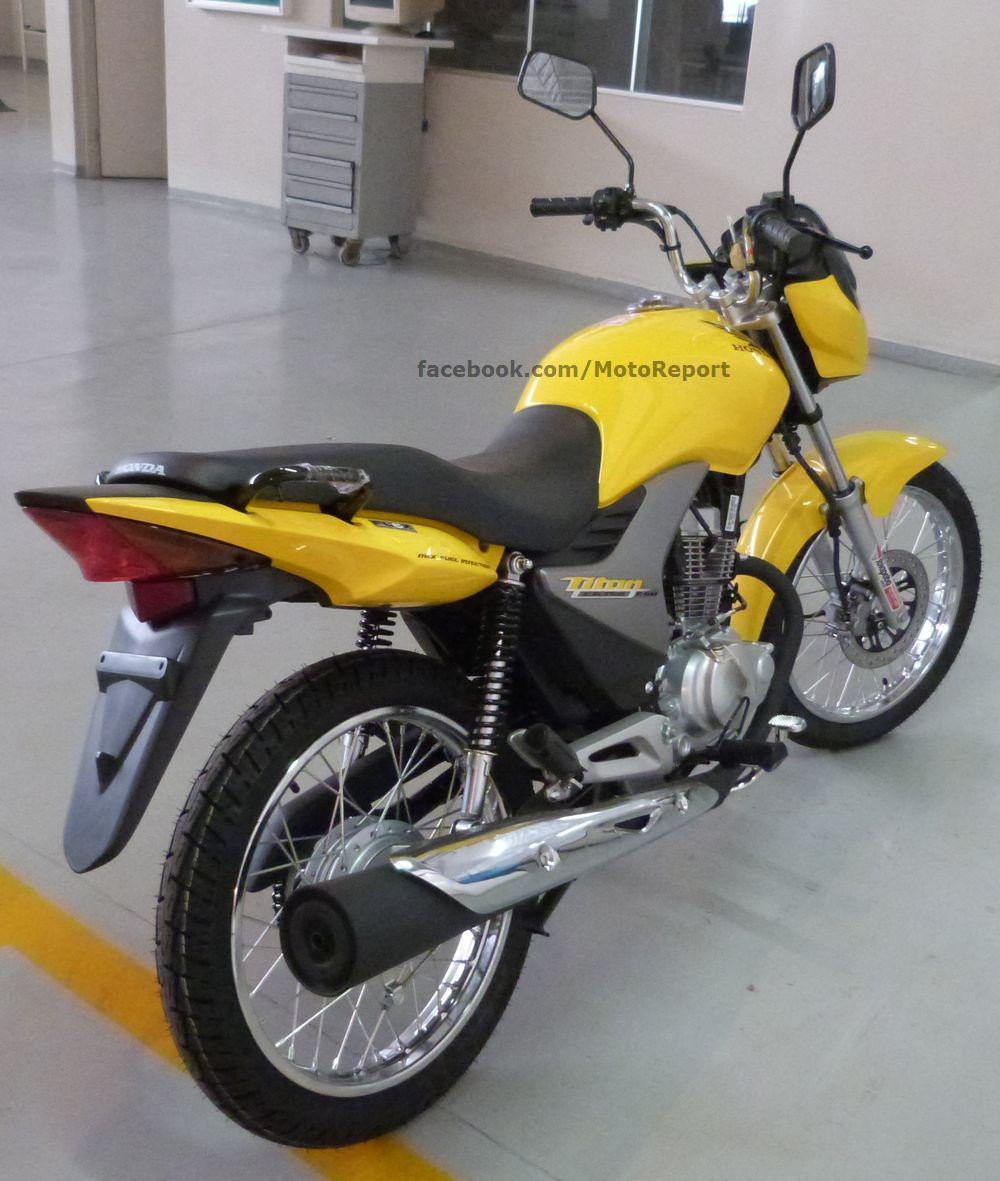 Titan e Fan 150 ganham cor amarela