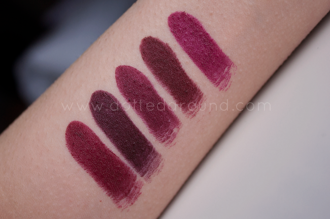 Nabla domina swatch rossetto