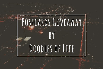Postcards Giveaway by Doodles of Life