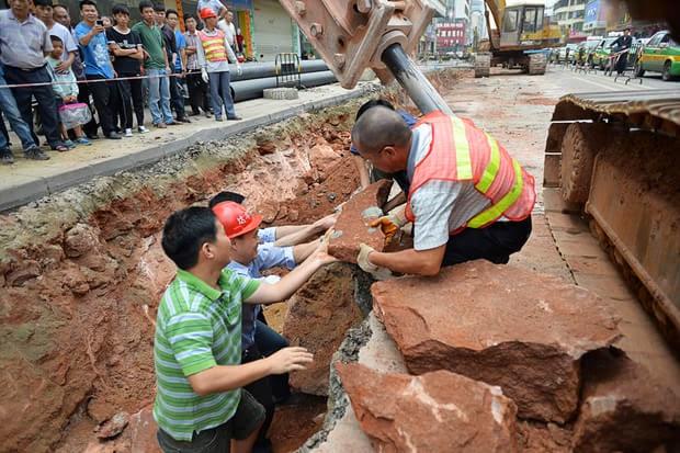 43 Fosil Telur Dinosaur Dijumpai di Heyuan China