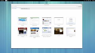 GNOME 3.8 web epiphany