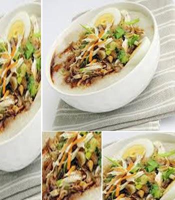Resep Bubur Ayam Praktis Sehat dan Halal