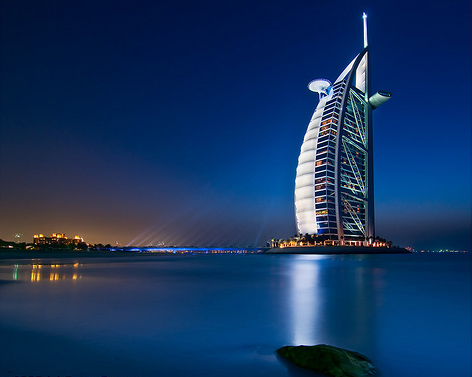 Burj al arab hotel dubai luxury places for The sail hotel dubai
